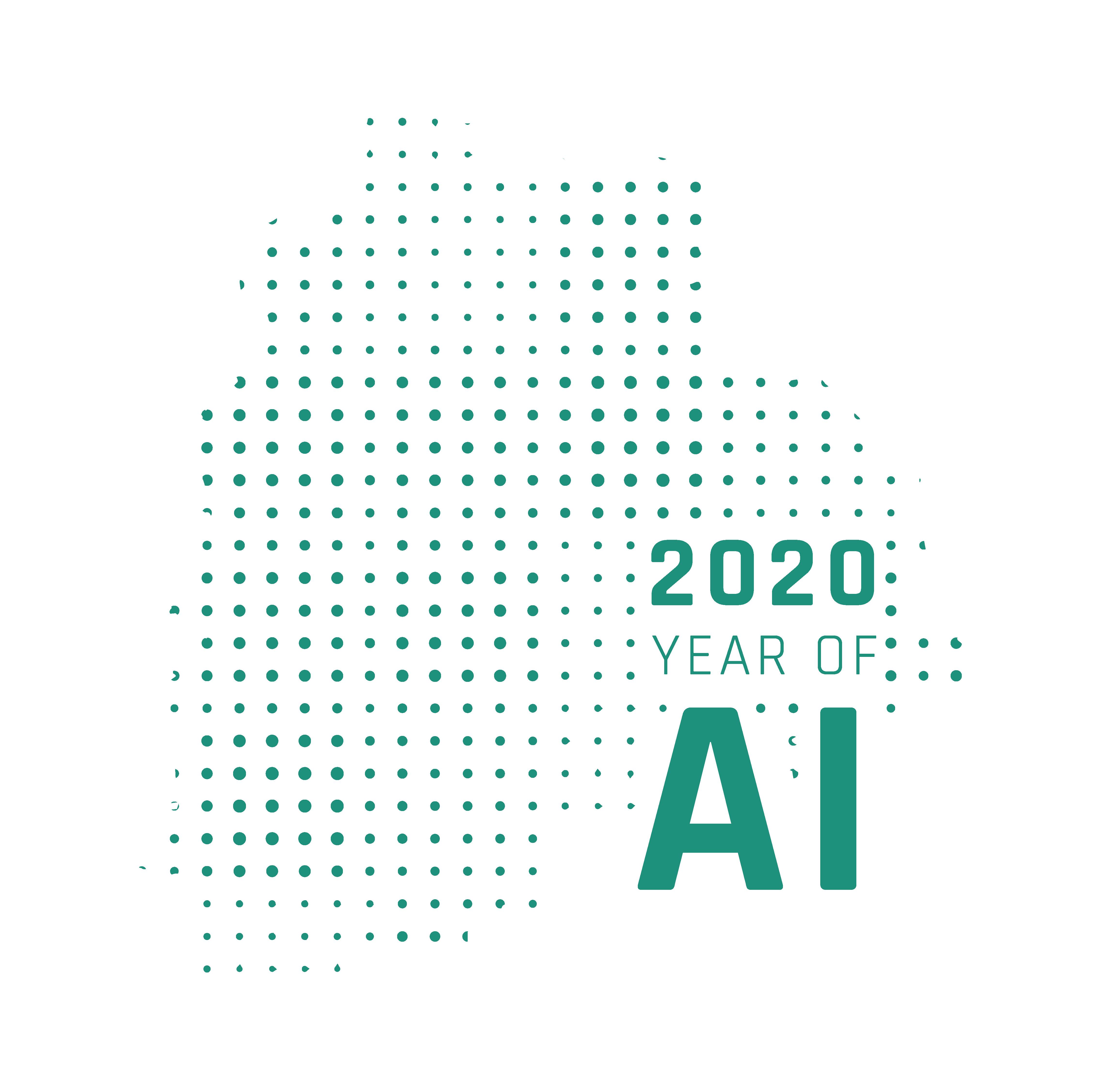 Telangana Year of AI 2020 Logo